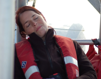 It was all too much for some volunteers, heh Maaike?