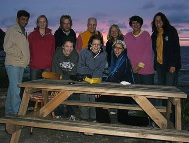 First Earthwatch team from India, the US and UK