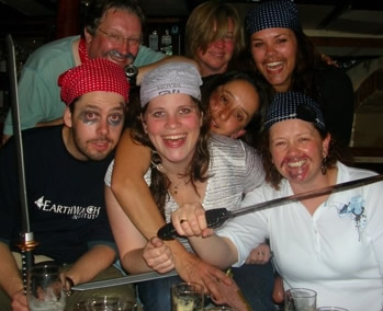 Pieces of eight! Shiver me timbers! Reed Elsevier corporate team, Oct 2007 - what an amazing bunch of people and a great end to the year!