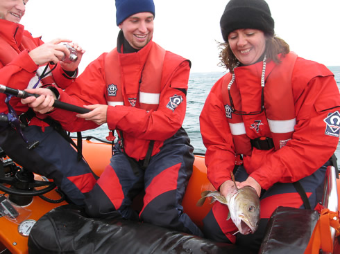 Anyone for cod??? We loved our sustainable fishing this summer! Mackerel and cod aplenty