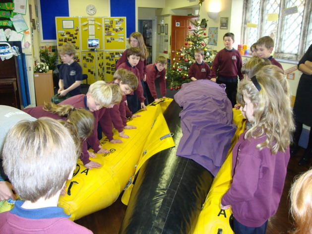 Educational visit for primary school kids in Yorks