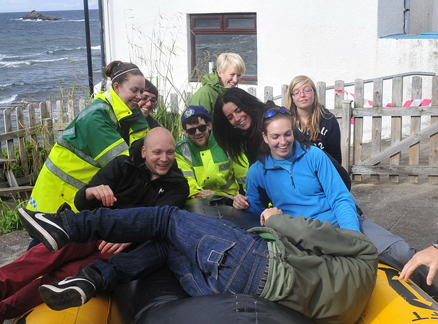 Team IV whale rescue exercise